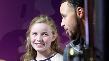 Stephen Curry shoe inspired by 9-year-old girl debuts on Women's Day