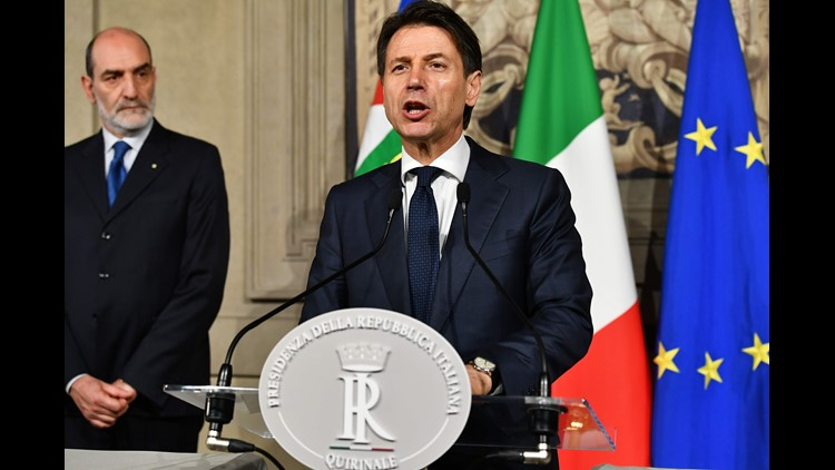 Italy's efforts to form government fail as president defends euro