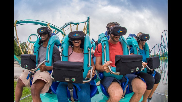 Due to limitations, VR remains a novelty at parks. Attraction designers are working to overcome its failings, though, to realize its potential.