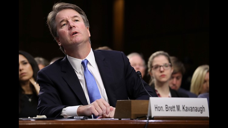 The nation's capital was up late Sunday reacting to the news of a second woman claiming Brett Kavanaugh sexually assaulted her decades ago