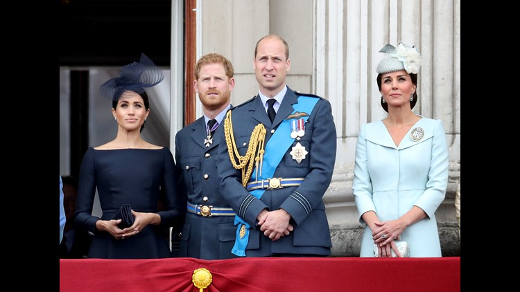 Supporting Britain's armed forces is a top job for the royal family, including Prince Harry and Duchess Meghan on the eve of their Ireland visit.