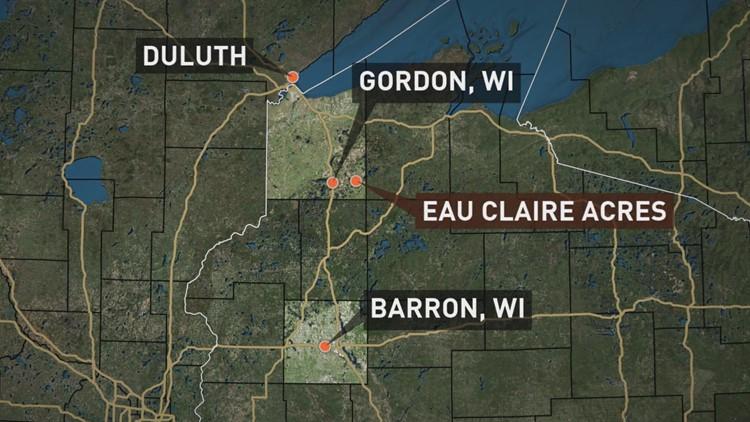 EAU CLAIRE ACRES MAP
