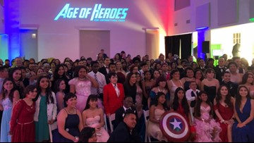 An unforgettable prom for San Diego teens with cancer