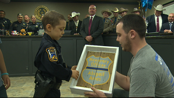 Freeport police make 6-year-old cancer patient's dream come true
