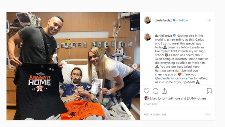 'I'll be pointing at you'   Carlos Correa dedicates walk-off home run to teen battling cancer