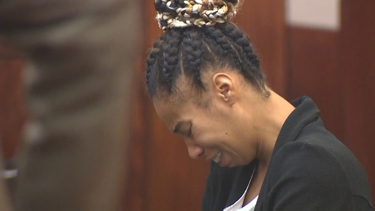 Texas woman accused of running over 3-year-old son in deadly 'game of chicken' taken back into custody