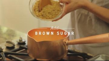 Caramel Corn with Toasted Hazelnuts