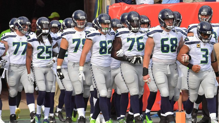 'Out of love for our country,' Seahawks stay in locker room for anthem