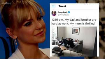Anna Faris, family 'lucky to be alive' after carbon monoxide exposure