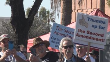 Gun rights rally at Arizona State Capitol