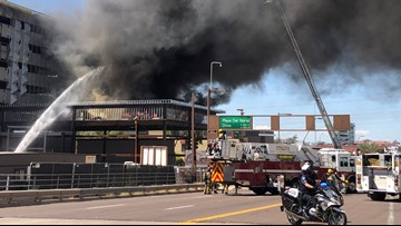 Smoke seen for miles as crews battled huge fire at Tempe construction site