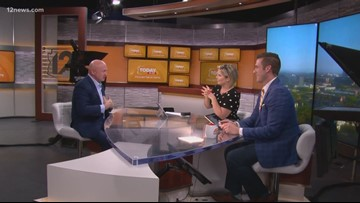 Democratic Senate candidate Mark Kelly stops by Today in AZ