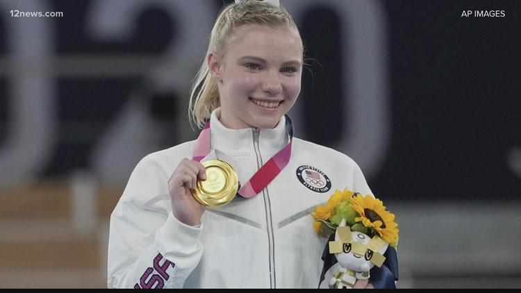 Gimnasta de Phoenix, Jade Carey, trae a casa medalla de oro tras una actuación espectacular en las Olimpiadas de Tokio