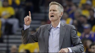 Steve Kerr teases James Harden during playoff game: 'Arizona's a better school than ASU'