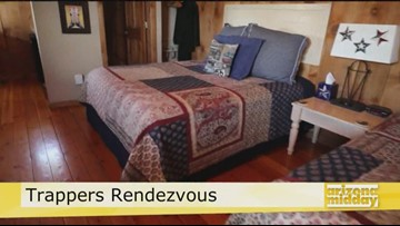 Stay a While in Williams at Trappers Bed & Breakfast