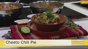 Jan's Delectable Cheeto Chili Pie