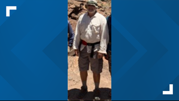 Hiker missing in Grand Canyon presumed to have drowned