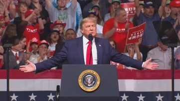 'Arizona, you've had the best year': President Trump exclaims at Phoenix rally