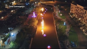 Art, lights and water dazzle in Scottsdale this week