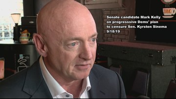 Mark Kelly rejects censure but says he might not vote like Sinema