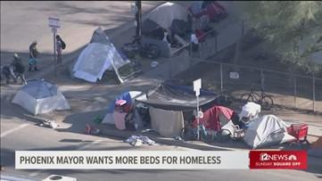 Phoenix mayor wants governor's help with homeless