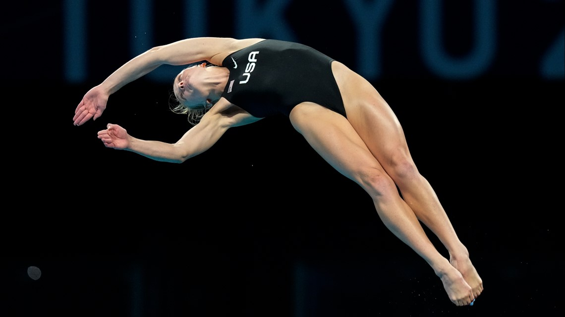 Tucson's Delaney Schnell earns 5th place in 10-meter diving finals