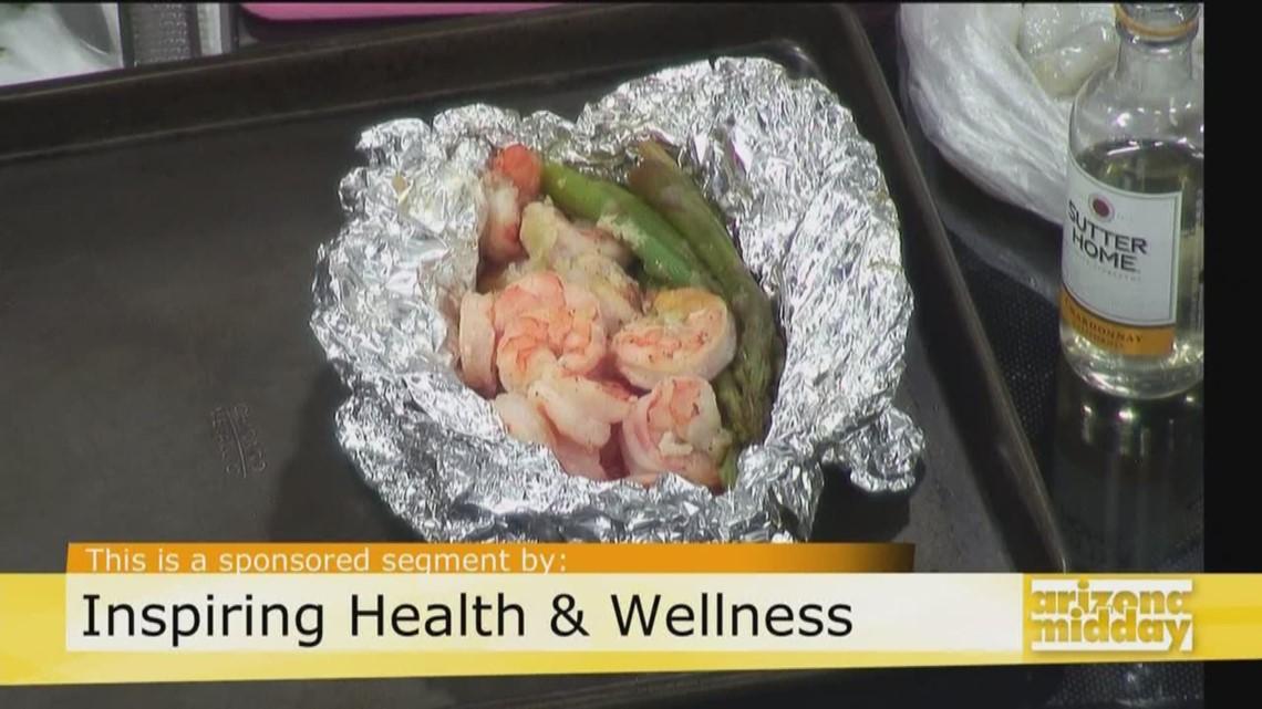 Try This Simple & Nutritious Shrimp Foil Pack