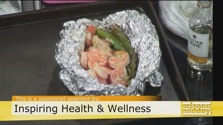 Try This Simple & Nutritious Shrimp Foil Pack