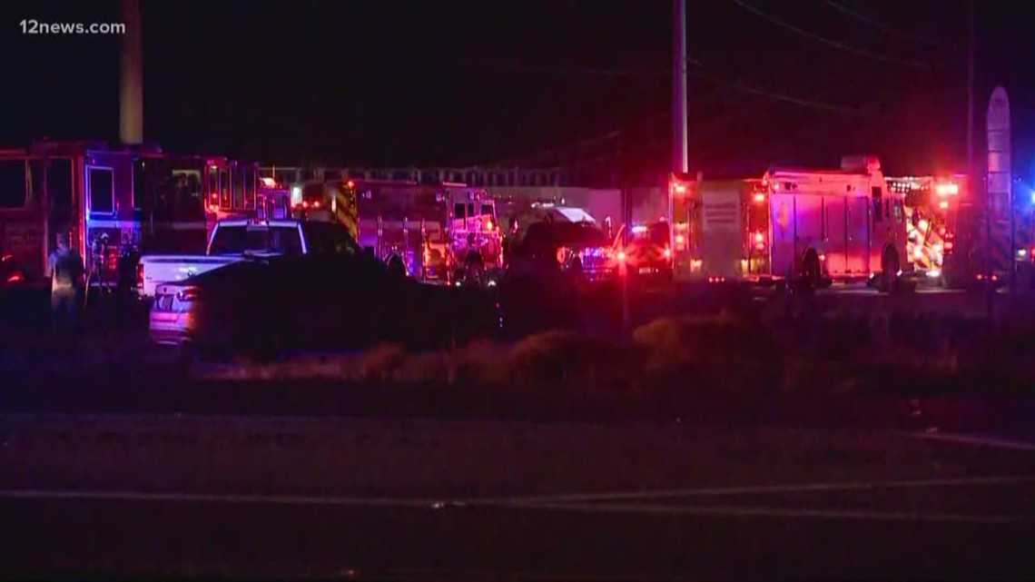 Firefighters injured in explosion in Surprise