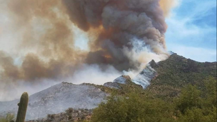 Woodbury Fire burning more than 123,000 acres, remains 48% contained