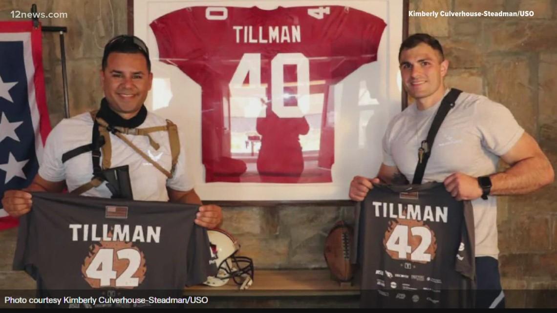 Where did Pat Tillman's Cardinals jersey end up?