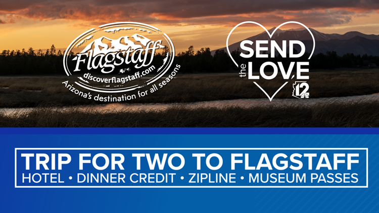 CONTEST ENDED:  Flagstaff CVB Send The Love Discover Flagstaff