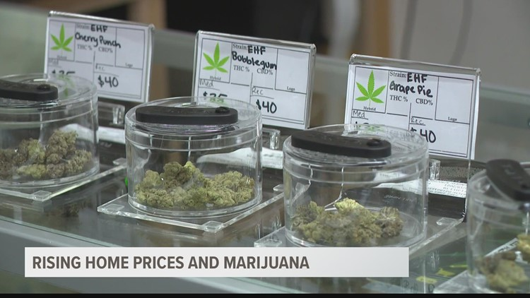 Rising Valley home prices and marijuana