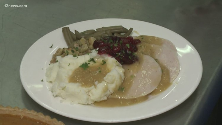 Make stuffing and cranberry sauce with St. Vincent De Paul