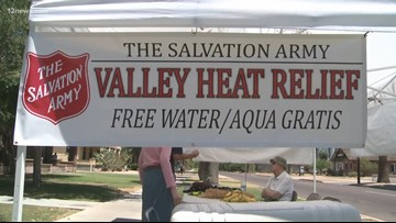 Salvation Army to reactivate heat relief stations throughout Phoenix area