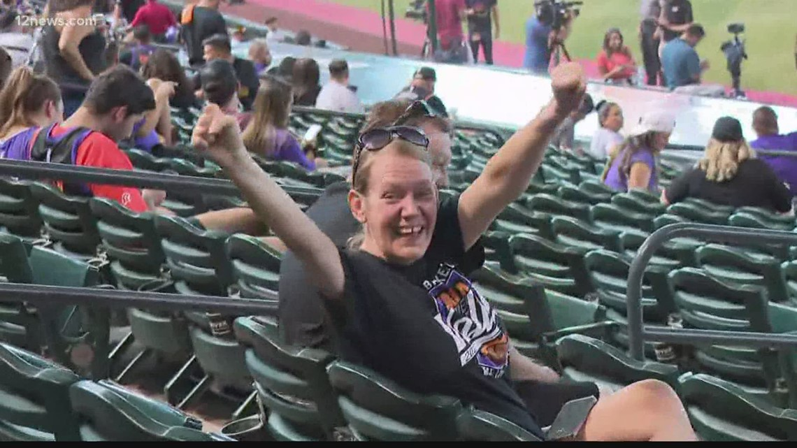 Suns fans Rally the Valley ahead of Game 4 of the NBA Finals
