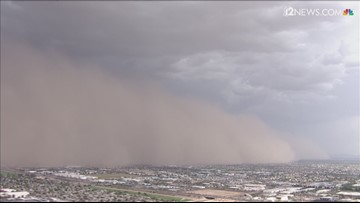 What should a driver do during a dust storm? ADOT has some advice.