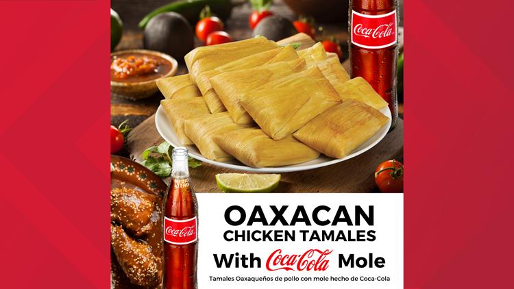 coke tamale oaxacan