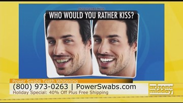 Look Younger in Minutes With Your Smile & Power Swabs