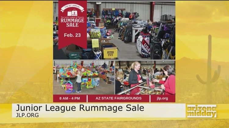 Junior League of Phoenix Rummage Sale is happening this Saturday!