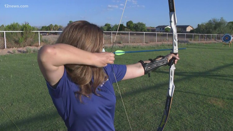 Train like an Olympic archer in Goodyear