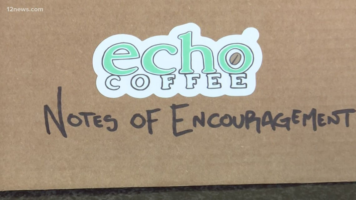 Notes of Encouragement project helps those hospitalized with COVID feel less alone