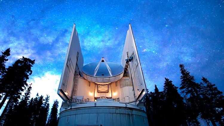 Submillimeter Telescope SMT Mt Graham Arizona
