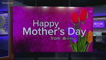 12 News celebrates Mother's Day with a tribute to our moms!