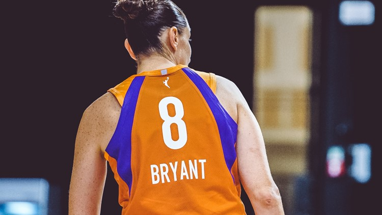Mercury auctioning off Diana Taurasi game-worn jersey bearing Kobe Bryant's name