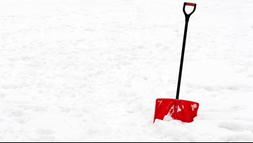 Heart attack risk increases during snow shoveling
