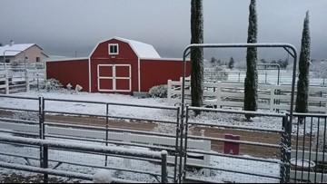 Photos: Snowy week across Arizona
