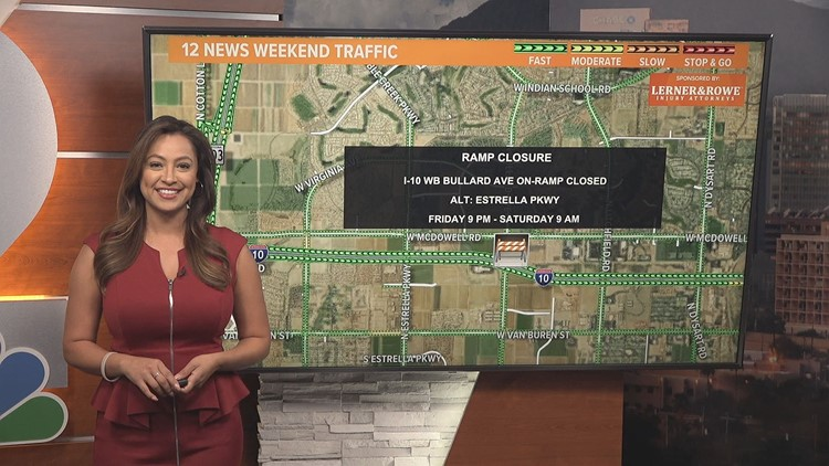 Weekend traffic report for April 16 - April 19