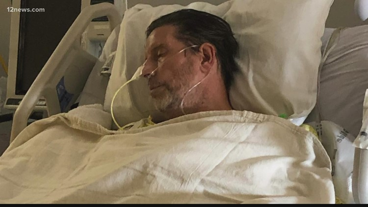 Peoria man fights rare case of West Nile virus complications, left partially paralyzed