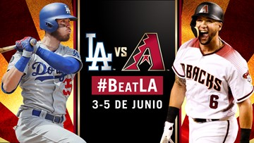 Los Diamondbacks se enfrentan a los Dodgers de Los Ángeles
